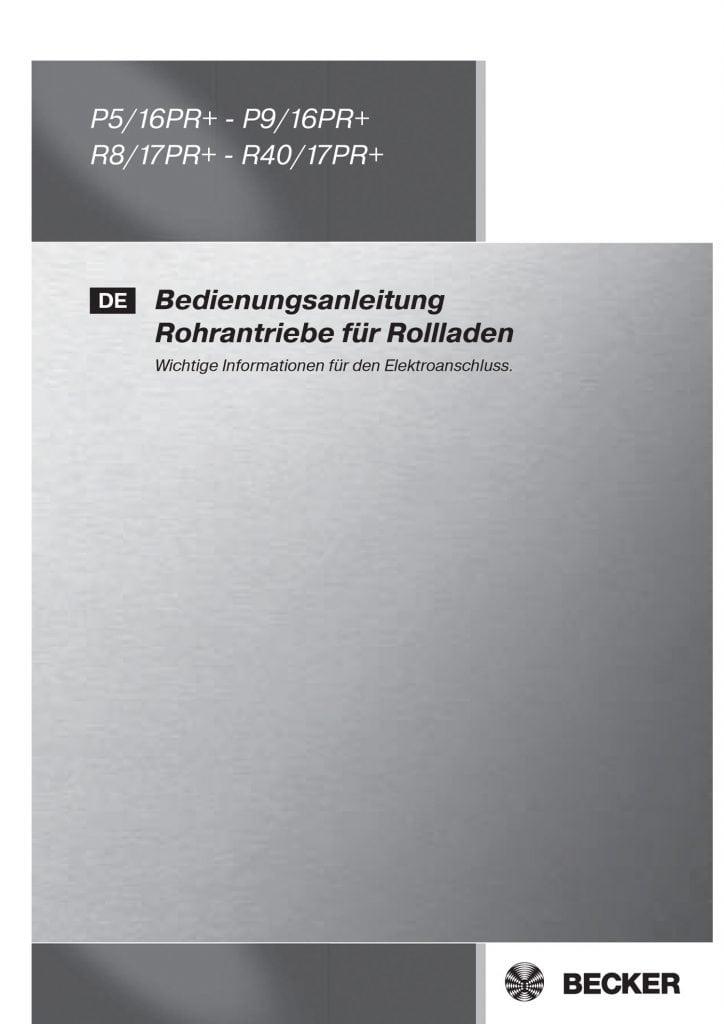 Installationsanleitungen   RUFALEX Rollladen-Systeme AG - Part 14