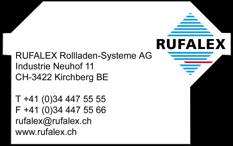 RUFALEX Rollladen-Systeme AG | RUFALEX Rollladen-Systeme AG