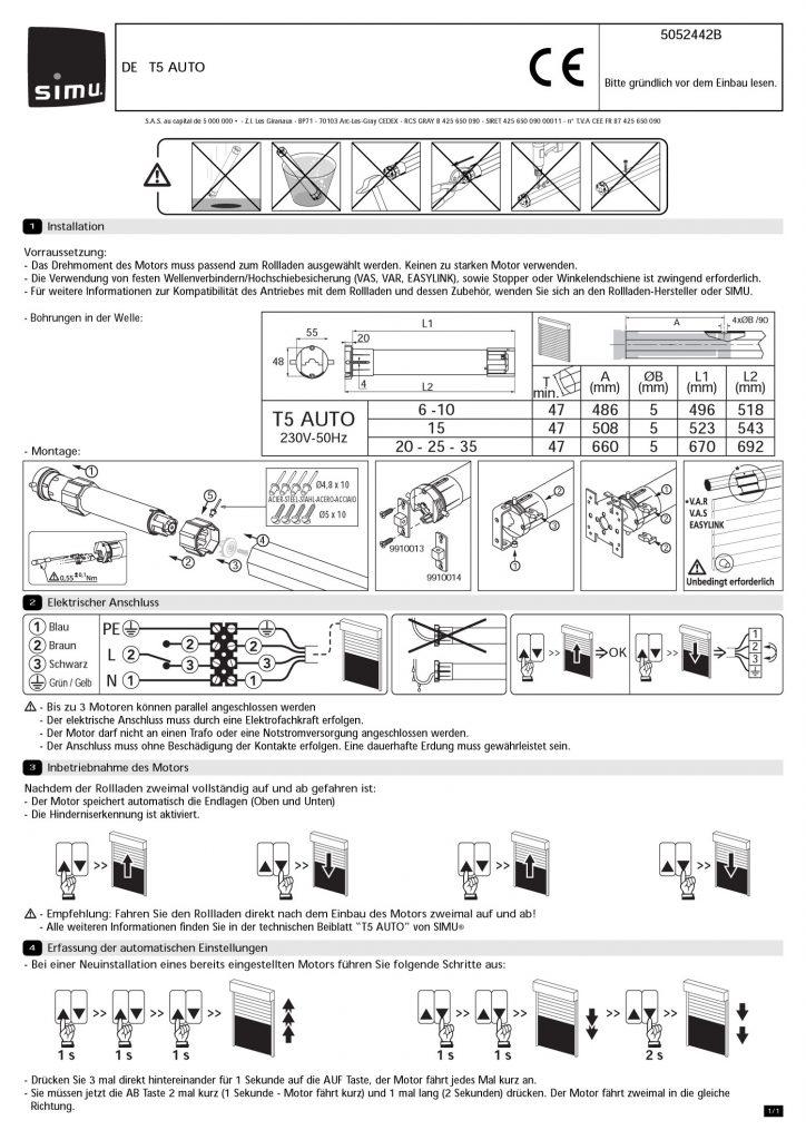 Motoren | RUFALEX Rollladen-Systeme AG - Part 9