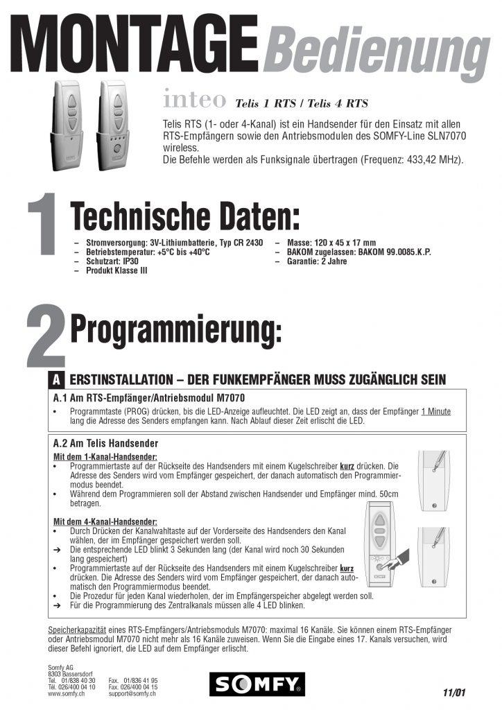 Somfy   RUFALEX Rollladen-Systeme AG - Part 3