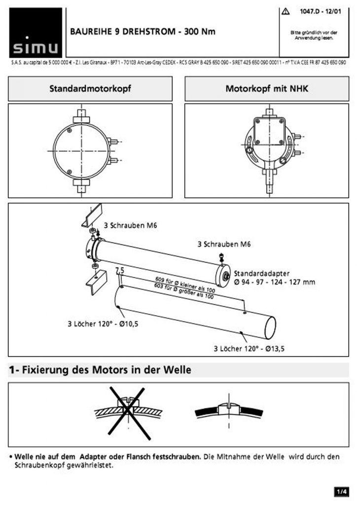 Installationsanleitungen   RUFALEX Rollladen-Systeme AG - Part 10