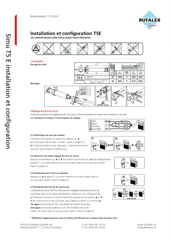 Reglage moteur simu filaire free moteur altron black radio nm collection et moteur et reglage - Reglage moteur volet roulant ...
